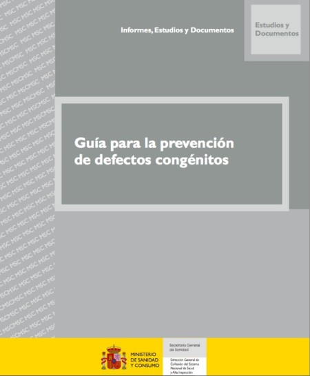 Guía para la prevención de defectos congénitos