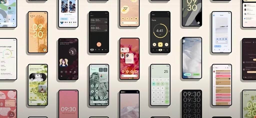 Probamos la personalización de Android 12: el sistema te ofrece adaptar el tema a los colores de tu fondo de escritorio