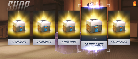 Overwatch Microtransactions