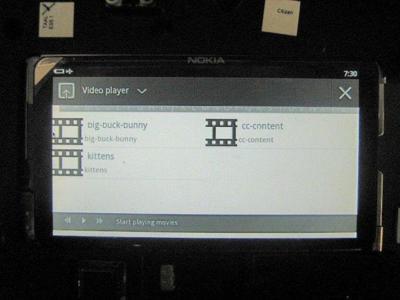 Cambio Nokia N9 por tablet Meego, razón Nokia
