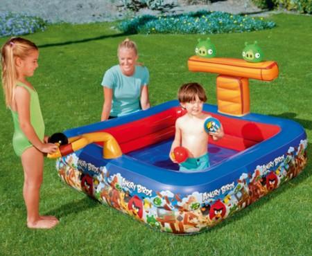 Tienes jard n pero no tienes piscina construye un parque acu tico para los peques - Piscina toys r us ...