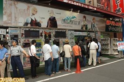 Lanzamiento de FFIII en Japón