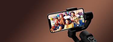 Graba vídeos con resultado profesional usando este gimbal para smartphone, de oferta flash en Amazon por 75,24 euros