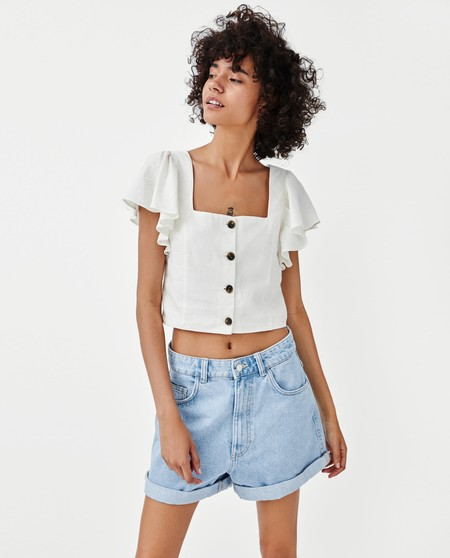 Cropped Top Zara Rebajas 06