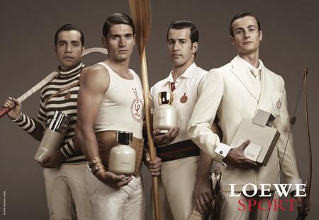 Campaña publicitaria de la colección Loewe Sport, pura estética británica de gran belleza plástica