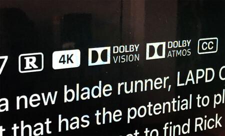 Dolby Vision y Atmos en iTunes