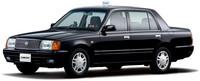 """Toyota Classic Crown Sedan, 20 años después y sigue """"igual"""""""