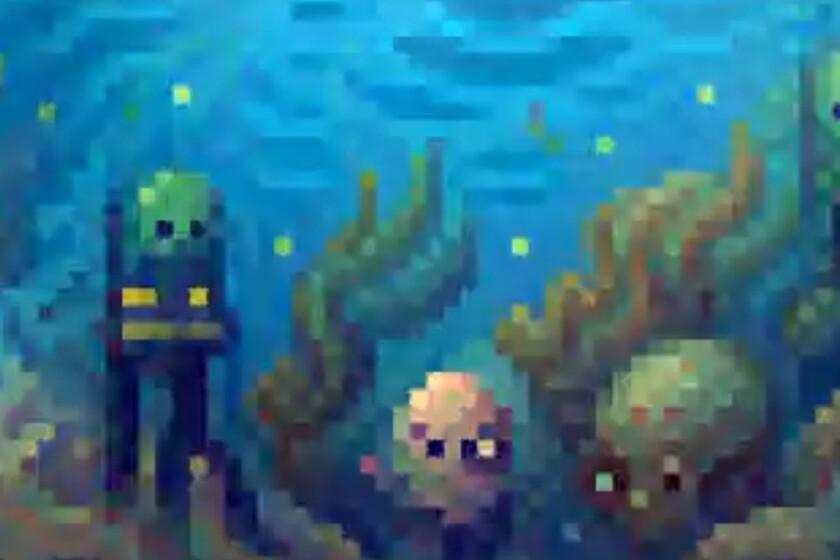 Estas ilustraciones pixel art animadas las ha creado una IA y ya nos preguntamos si podría aplicarse a videojuegos