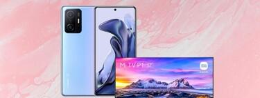 """Chollo pack en El Corte Inglés: compra el nuevo Xiaomi Mi 11T de 256GB y llévate el televisor Xiaomi Mi TV P1 de 32"""" a 599 euros"""