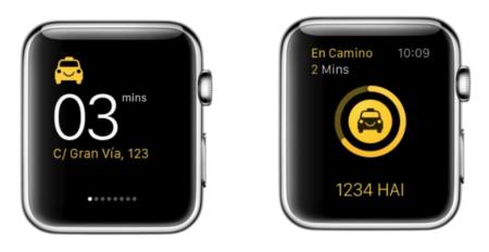 Hailo nos enseña cómo llamar a sus taxis con el Apple Watch