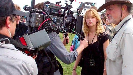 Foto de Fotos del rodaje de la nueva película de Terrence Malick, con Christian Bale y Haley Bennett (2/4)