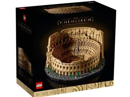 Caja Coliseo Lego