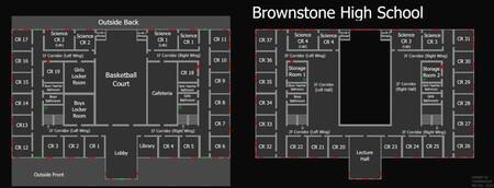Mapa Brownstone