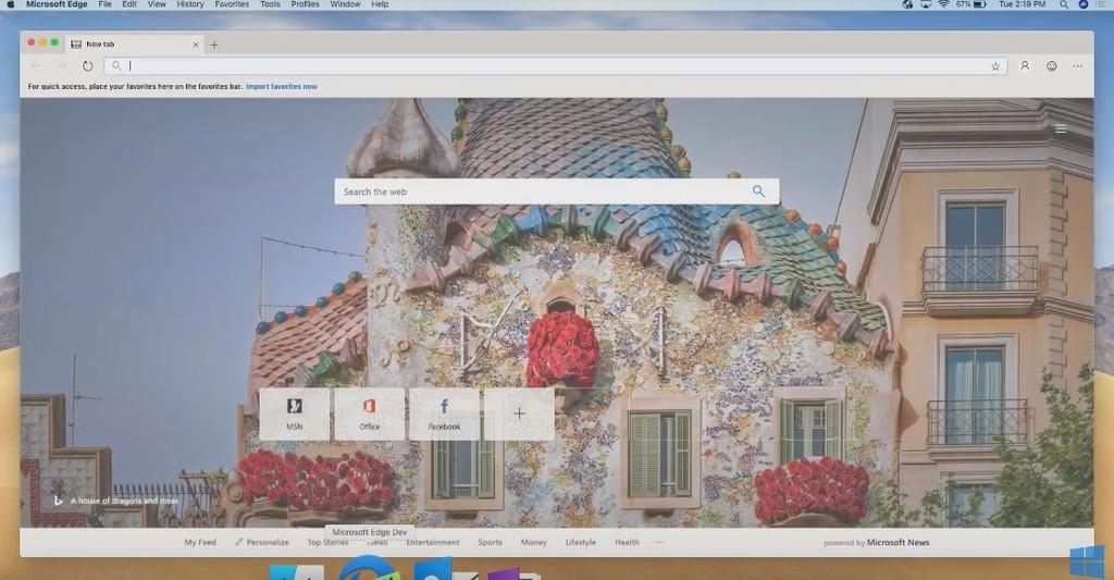 Microsoft deja ver Edge para macOS: esto es lo que traerá su opción a Safari