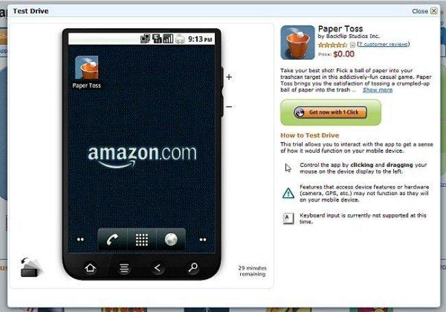 Emulador de la Appstore de Amazon