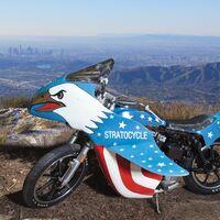 ¡Una moto de película! Esta imperial Harley-Davidson Stratocycle sale a subasta a partir de 100.000 dólares