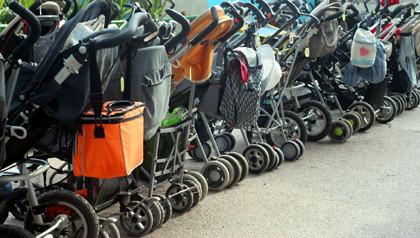 Retirados del mercado varios modelos de sillas de paseo
