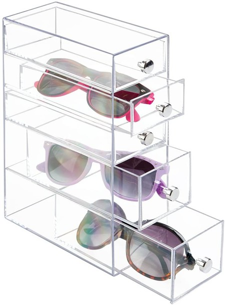 Caja de metacrilato para gafas