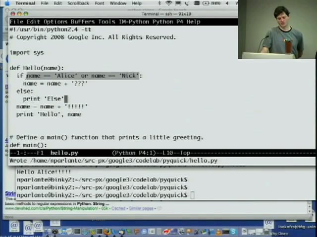 aprender Python Google