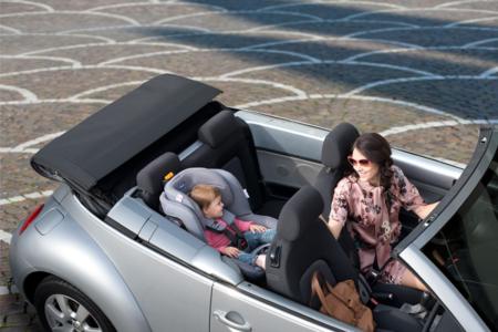 En el coche siempre en su silla: momentos en los que hay que parar