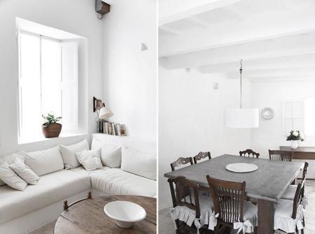 Una auténtica casa Menorquina