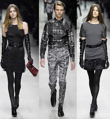 Burberry Prorsum en la Semana de la Moda de Milán Otoño/Invierno 2007/08