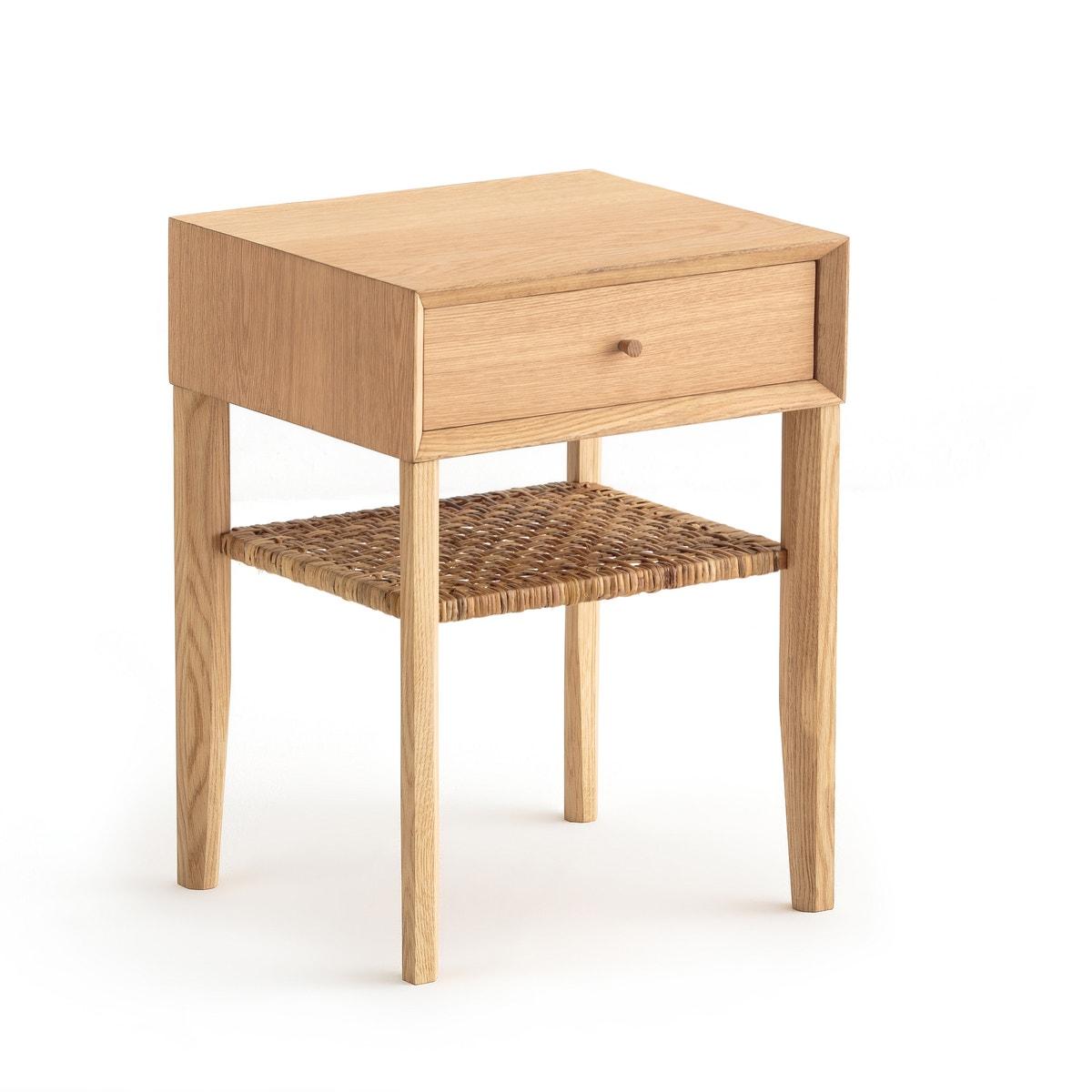 Mesita de madera de roble