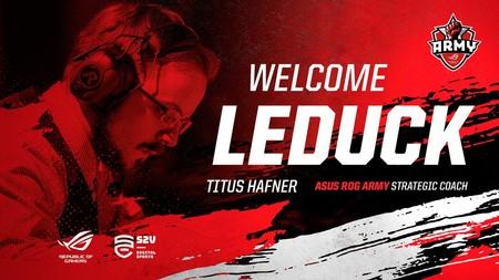 League of Legends: LeDuck, ex de Origen, ficha por ASUS como entrenador estratégico