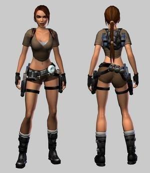 Así es la nueva Lara Croft
