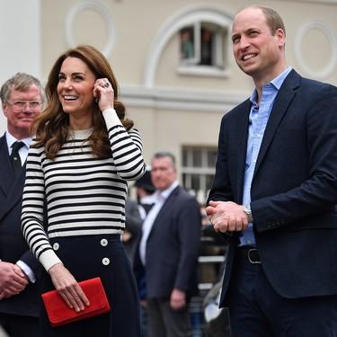 Si te gusta el estilo marinero, vas a alucinar con el lookazo que se ha marcado Kate Middleton