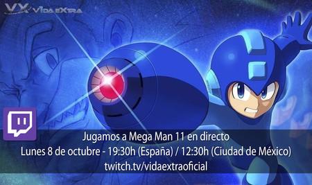 Streaming de Mega Man 11 a las 19:30h (las 12:30h en CDMX) [finalizado]