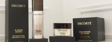 Probamos la el sérum y la crema de día de la línea VI-Fusion de Decorté, un verdadero lujo para la piel