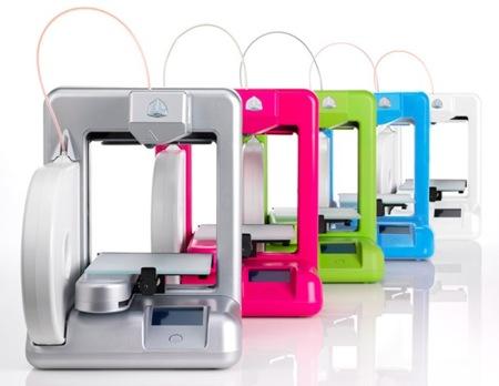 Cubify, la impresora doméstica en 3D