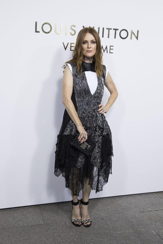 louis vuitton paris celebrities vendome Julianne Moore