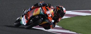 ¡Ha nacido una estrella! Pedro Acosta remonta 22 posiciones para ganar su primera carrera y ponerse líder de Moto3