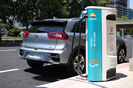red de carga para coche eléctrico repsol