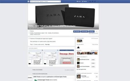 Zara Facebook timo