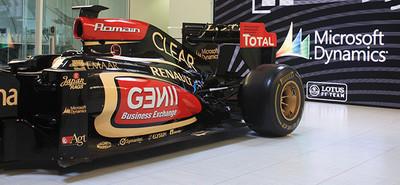 Donde no me esperaba tanto Windows, escudería Lotus-Renault de Fórmula 1