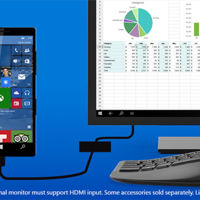 Microsoft lo promete: con Windows 10 del móvil sacaremos un PC completo al conectarlo a una pantalla