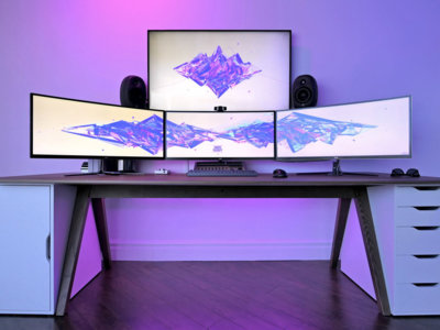 Una cuestión de píxeles: ¿merece la pena trabajar con dos monitores?