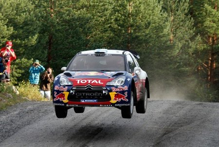 Rally de Finlandia 2012: los Citroën abren un pequeño hueco