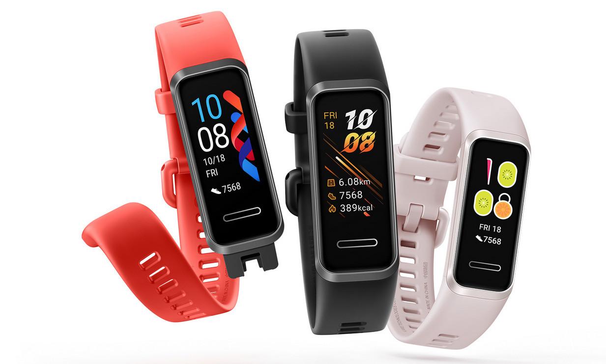Huawei Band 4: nueva rival de la Xiaomi Mi Smart Band 4 con medición del oxígeno en sangre y del ritmo cardíaco