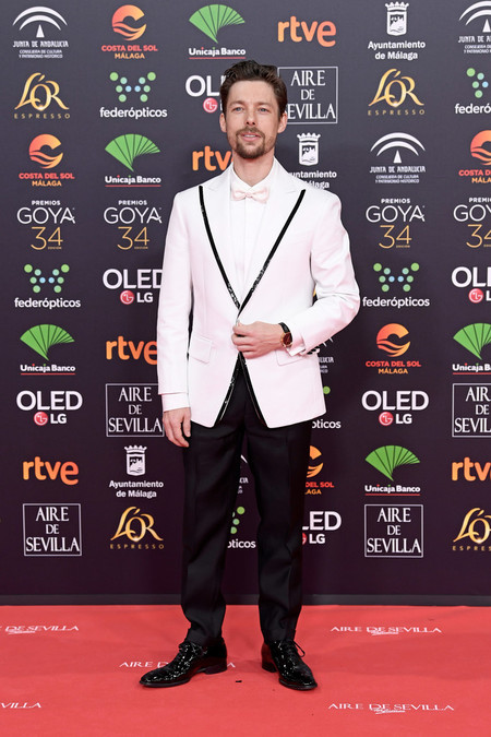Jan Cornet Goya Cinema Awards 2020 Red Carpet 02