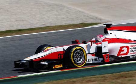 Takuya Izawa Dallara GP2/11
