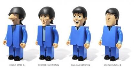 Y llegaron los toys de Los Beatles
