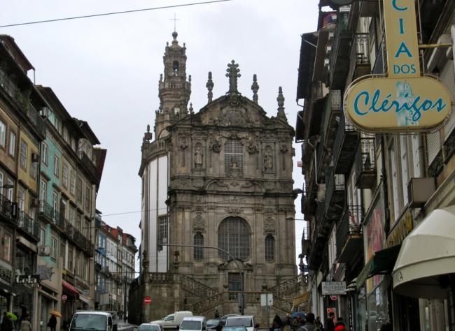 Iglesia y Torre dos Clérigos Oporto