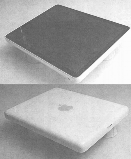 Prototipo del iPad de 2002-2004