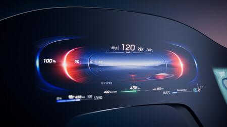 Mercedes Benz Mbux Hyperscreen Instrumentos