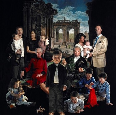 Retratos de la familia real danesa que dan más miedo que la niña del Exorcista