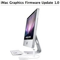 Actualización de Firmware 1.0 para las gráficas de los iMac Aluminio
